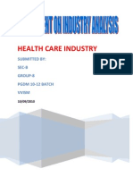 Health Care Service Industry