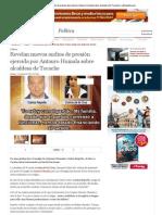 Revelan nuevos audios de presión ejercida por Antauro Humala sobre alcaldesa de Tocache _ LaRepublica