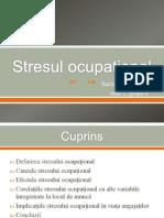 stresul ocupational