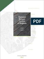 Annual Report 2012 - National Botanic Garden of Belgium