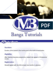 Company Secretary Professional Course - Banga Tutorials