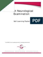 Adult Neurological Examination
