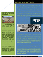 Today's YOUTH for Tomorrow's YOUTH Newletter August 2013