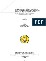 Analisis Perbandingan Produktivitas Alat Angkut Hasil Simulasi Talppac Untuk Penentuan Jumlah Alat Angkut Caterpilar 793 c Pt. Nnt Ntb