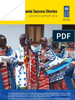 UNDP Tanzania Success Stories - Election Support 2010