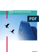 Doing business in Latvia 2013