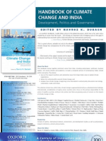 Handbook of Climate Change and India OUP