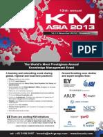 KM Asia 2013