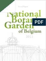 Annual Report 2011 - National Botanic Garden of Belgium