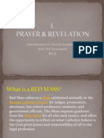 I Prayer and Revelation
