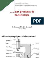 TP Microbio Niv 1 Lecture Lames