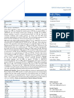 Indian Bank, 1Q FY 2014