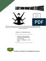 Meditation According to Yoga 2013