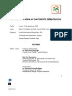 Programa IDU Agosto