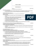 resume for portfolio 082013