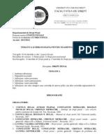 Temat St Pnl Dr Penal 2013 2014