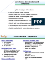 B208 Access & Constraints