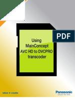MainConcept Transcoder