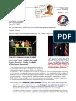 Letter to Rex Tillerson 13-08-11 Nez Perce Megaload Resistance