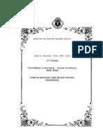 SPM模拟题(吉打州中学华文科委会)