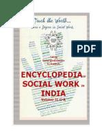 Encyclopedia of Social Work in India Volume II