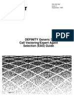 DEFINITY G3 Call Vectoring-EAS Guide
