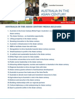 Australia in the ASIAN Century Media Release