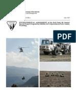 Environment impact report