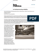 Pneumatics Ensures Food-processing Reliability