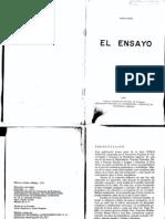 El Ensayo. Arturo Souto