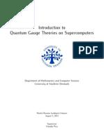Gauge Fields Supercomputers