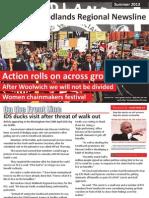 PCS Union Midlands Regional Newsline Summer 2013