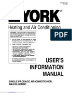 York Heating Air Conditioner