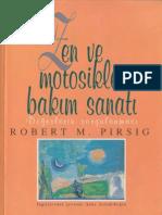 Zen ve Motosiklet Bakım Sanatı -Robert M.Pirsig.pdf