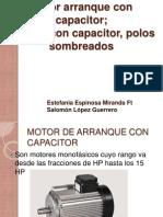 Motor Arranque Con Capacitor