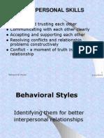 Behavioral Styles