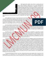 LMCMUN report- A Sample MUN Report