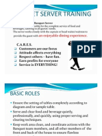 Banquet Server Basic Skill Training(1)