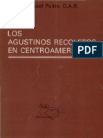 Polite, Miguel - Los Agustinos Recoletos en Centroamerica