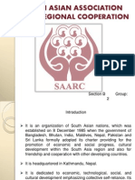 An Economics Project on South Asian Association and Regional Corporation