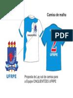Camisa do Cinquentões UFRPE