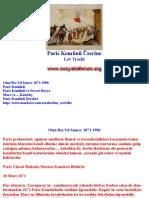 Paris Komünü Üzerine