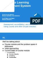 Course for Drupal Quiz - Presentation