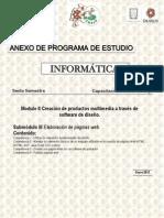 Modulo II Submodulo III Elaboracion de Paginas Web