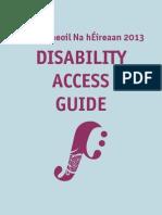 Fleadh Access Guide - Derry 2013