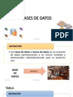 1 Bases de Datos