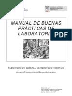 Buenas PráctiBuenas Prácticas de Laboratorio (CSIC)cas de Laboratorio (CSIC)