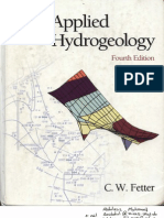 Applied Hydrogeology