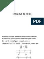 Teorema de Talessss