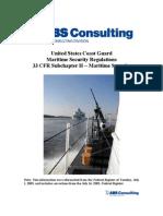 Uscg Maritime Sec. Reg